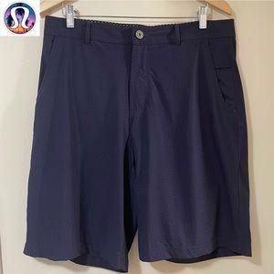 Lululemon Kahuna Purple Polka Dot Bermuda Shorts